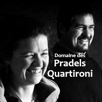 Domaine des Pradels Quartironi, Magali and Guilhem Quartironi